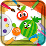 Coloring Book Vegetable APK icon