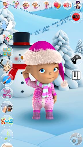Talking Baby Babsy Winter Fun 15 screenshots 1