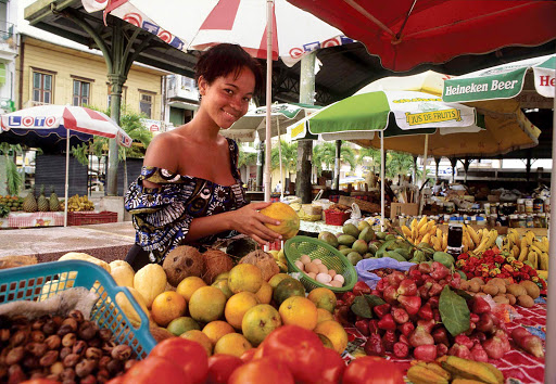 Guadeloupe-fruit-market.jpg - Find the freshest produce at Saint-Antoine's market in Pointe-à-Pitre, Guadeloupe.