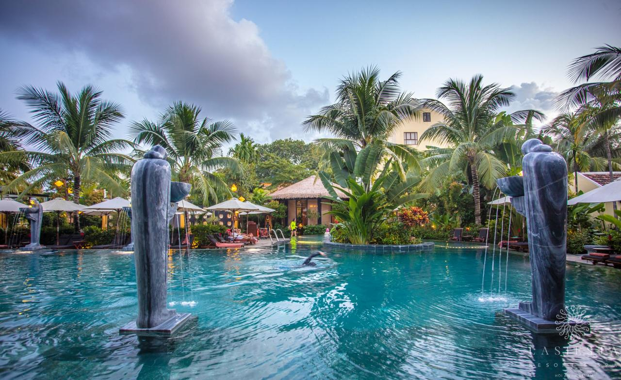 Swimming pool at a Hoi An boutique resort