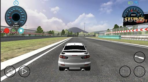Code Triche Lancer Evo Car Race Drift Simulator APK MOD screenshots 2