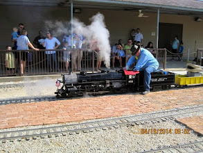Photo: Steam Engineer Pete Greene     HALS Public Run Day 2014-0419 DH3