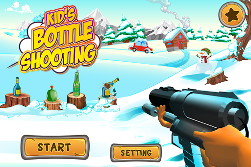 Kids Bottle Shooting  screenshots 1