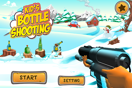 Kids Bottle Shooting - náhled