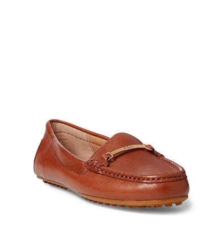 Briony Loafers, deep saddle tan