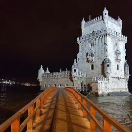 Torre de Belem, Belem Lisbon, Portugal by Dražen Komadina - City,  Street & Park  Street Scenes ( portugal, kom@dina, torre de belem, belem lisbon, dražen komadina )