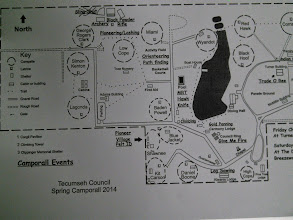Photo: Copy of map for posterity