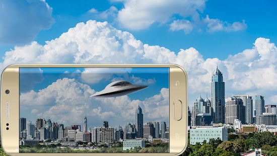 UFO Camera Photo Mock up screenshot