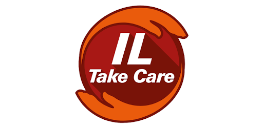 The IL Take Care app is a one-stop insurance service and wellness.