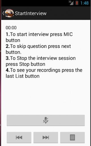 SSB INTERVIEW PRO Screenshot 3 .