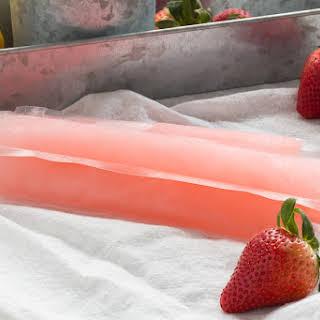 Frozen Spiked Pink Lemonade Margarita.