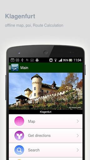 Klagenfurt Map offline