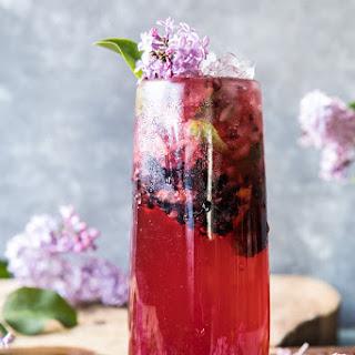 Blackberry Lilac Mojito Recipe