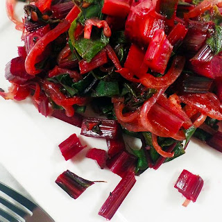 Vegan Citrus SautéEd Beet Greens Recipe