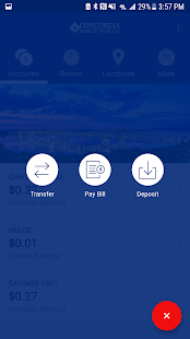 Concordia Bank Mobile- screenshot thumbnail