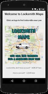 Find Locksmiths On Locksmith Maps Live - náhled