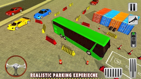 Modern Bus Drive 3D Parking new Games-FFG Bus Game 4