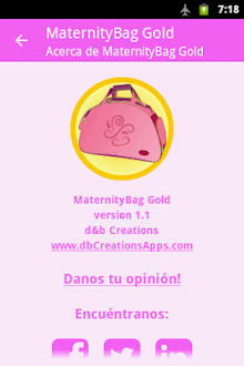 MaternityBag Gold Gratis