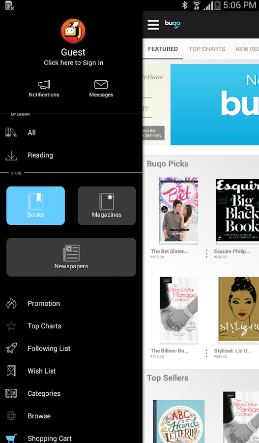 buqo - Pinoy Digital Bookstore- screenshot