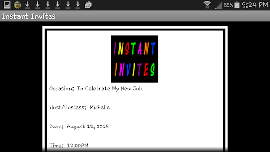 Instant Invites- screenshot thumbnail