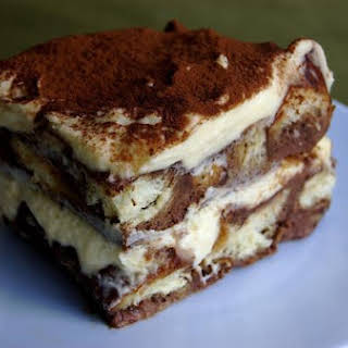 Tiramisu Bread Pudding.