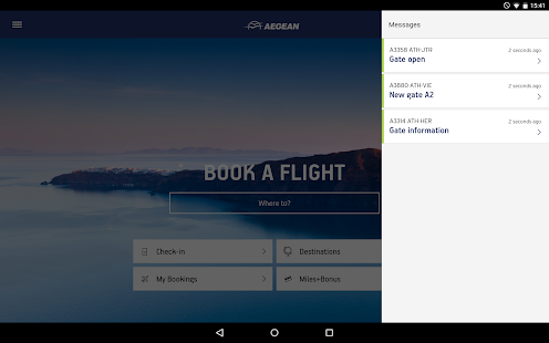 Aegean Airlines- screenshot thumbnail