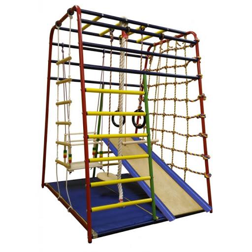 Детский спортивный комплекс Веселый Малыш Next Вертикаль 118843 купить