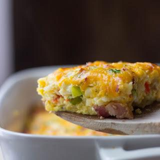 Bacon & Veggie Breakfast Casserole.
