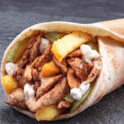 Fries Beiruti Chicken Shawarma Wrap