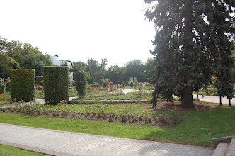 Photo: Parktuinen op de Petrin-heuvel.