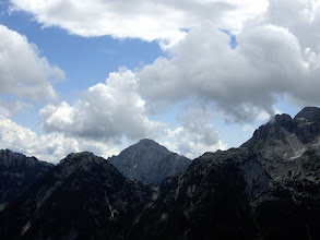 Photo: Pogled na Rombon 2208 m