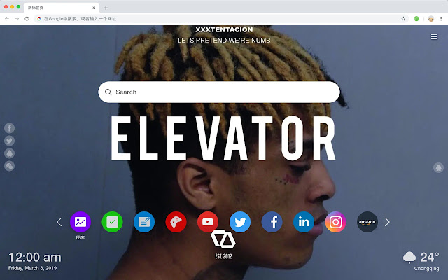 XXXTentacion Hot Stars HD New Tabs Themes
