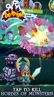 Tap Knight - RPG Idle-Clicker Hero Game Screenshot