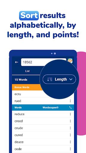 WordFinder: Free Word Games Cheats & Helper filehippodl screenshot 9