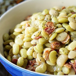 Southern Butter Beans with Bacon.