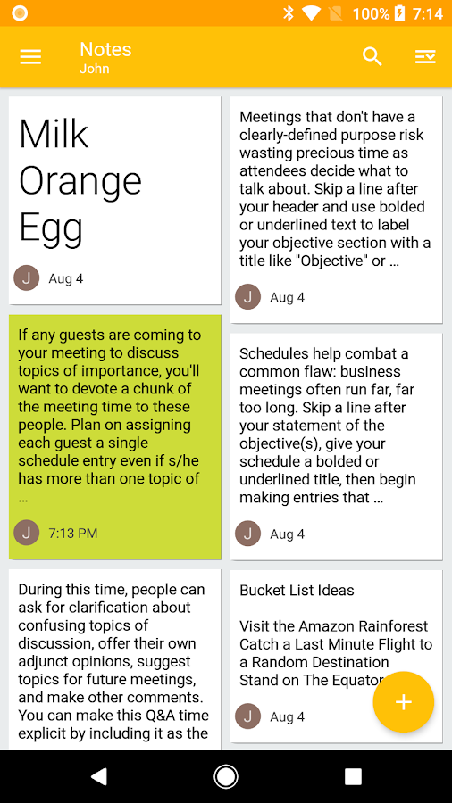 Nine - Email & Calendar- screenshot