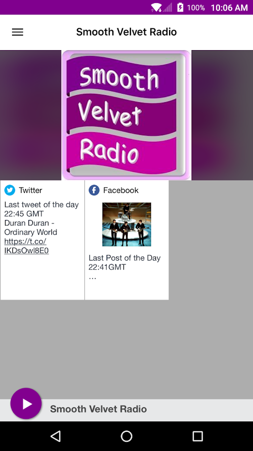 Smooth Velvet Radio- screenshot