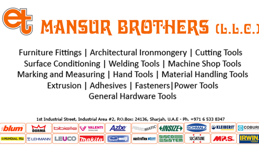Mansur Brothers LLC - Over 50,000 Products in 14 Categories