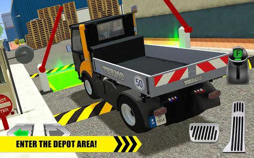 Truck Driver: Depot Parking Simulator 1.1 screenshots 6