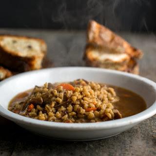 Mushroom-Barley Soup