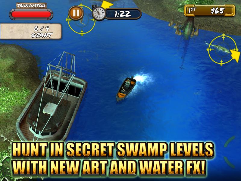Скриншот Swamp People