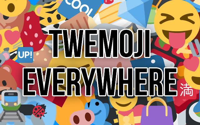 Twemoji Everywhere