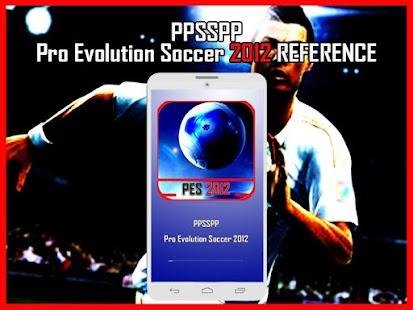 New ppsspp Pro evolution soccer 2012 tips - náhled