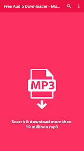 Free Audio Downloader - Music & Mp3 Download for PC