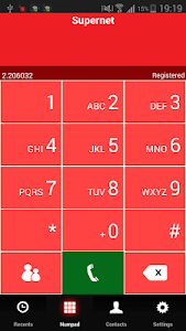 Supernet dialer screenshot 0
