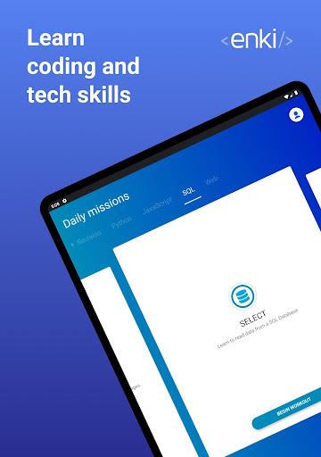 Enki: Learn data science, coding, tech skills 2.1.3 Screenshots 9