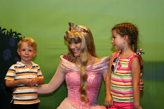 Photo: Meeting Aurora at the Meet the Princesses at Town Square Theater