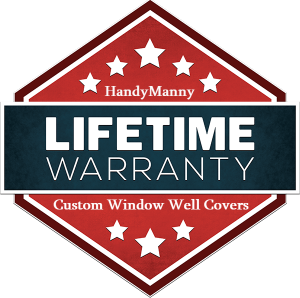 handymanny custom window well covers logo
