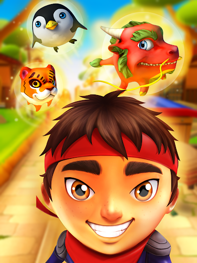 Ninja Kid Run Free - Fun Games - screenshot