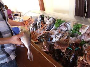 Photo: Nachdem die Auswahl an Meeresgetier schwer fällt, ...